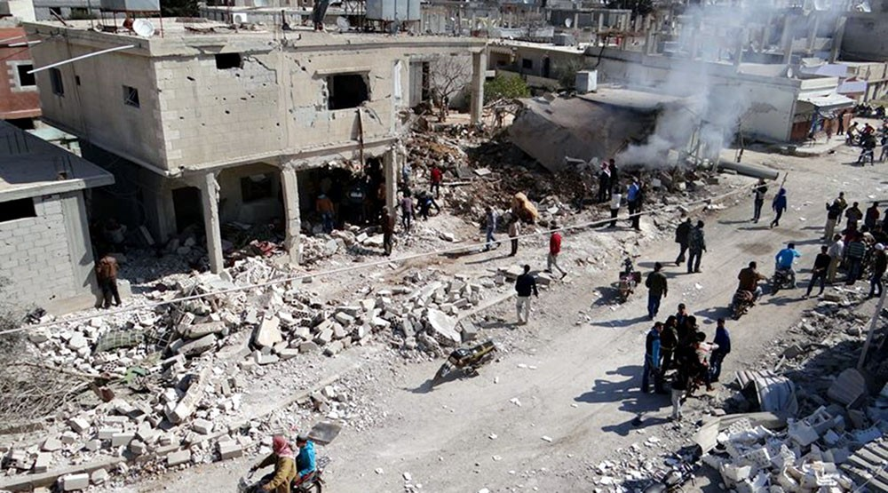 قوات النظام السوري تجدد قصفها لمخيم درعا