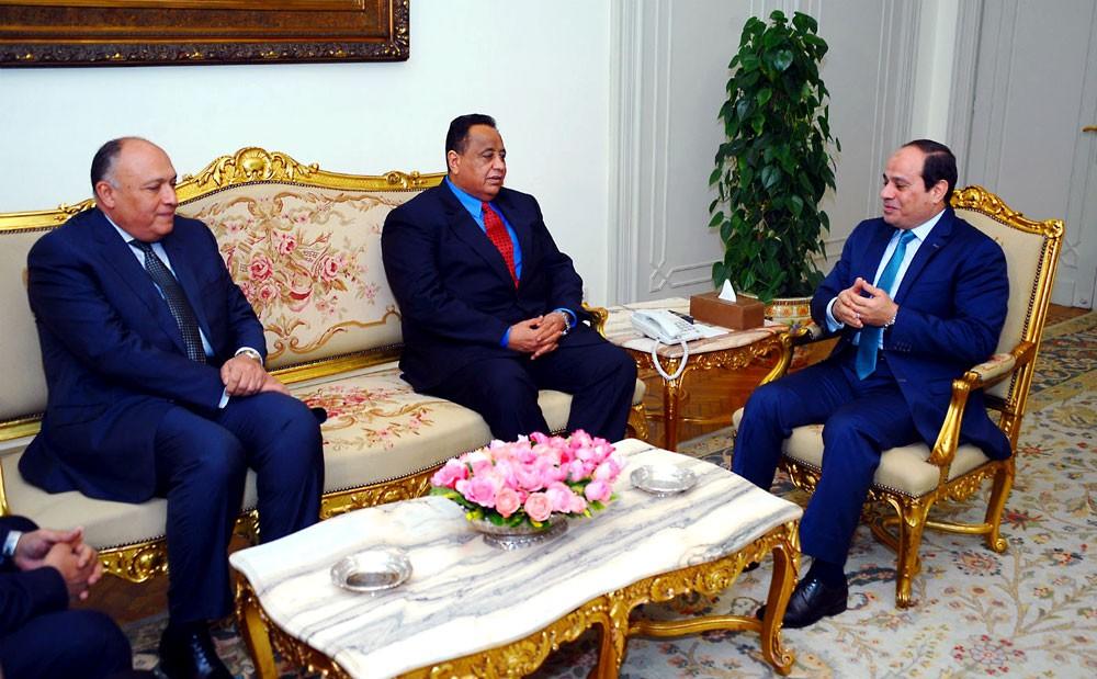 وزير خارجية السودان للسيسي: نسعى لتجاوز ما يعكر العلاقات