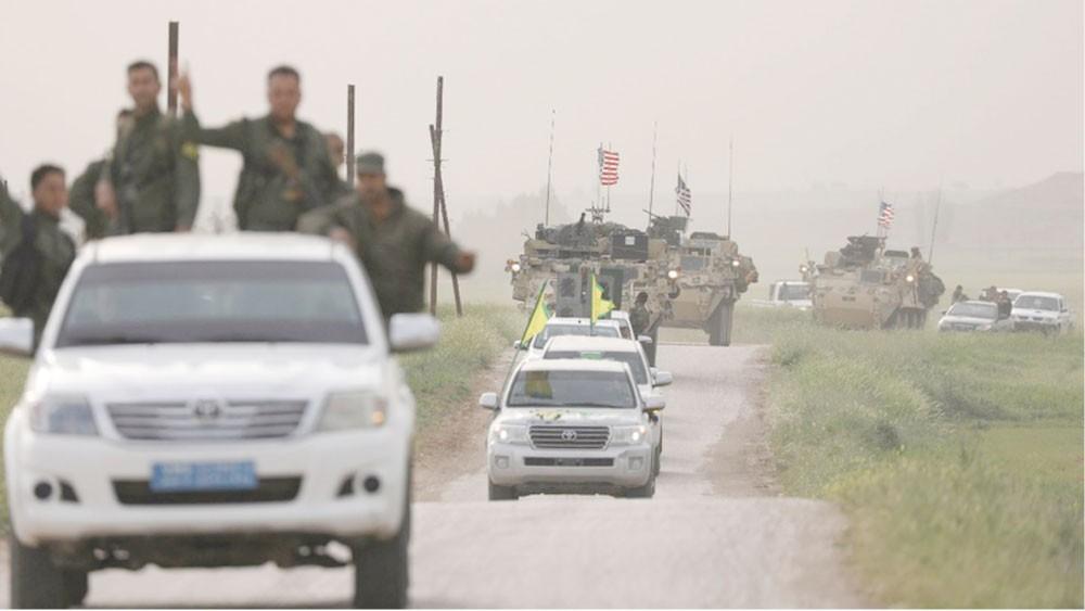 """قوات تدعمها واشنطن تنتزع بلدة المنصورة من """"داعش"""""""