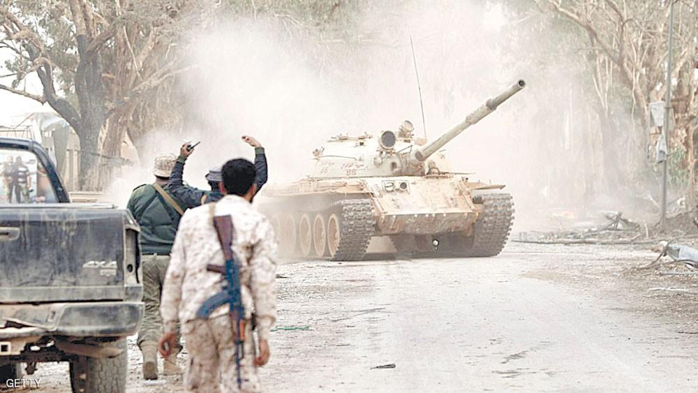 """الجيش الليبي يسيطر على """"كامل مناطق"""" الجفرة والقاعدة الجوية"""