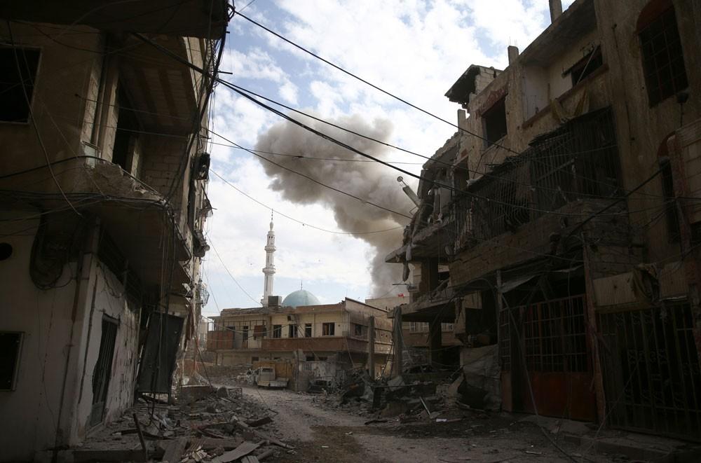 """روسيا تنفي مسؤوليتها عن """"مجزرة الغوطة"""""""