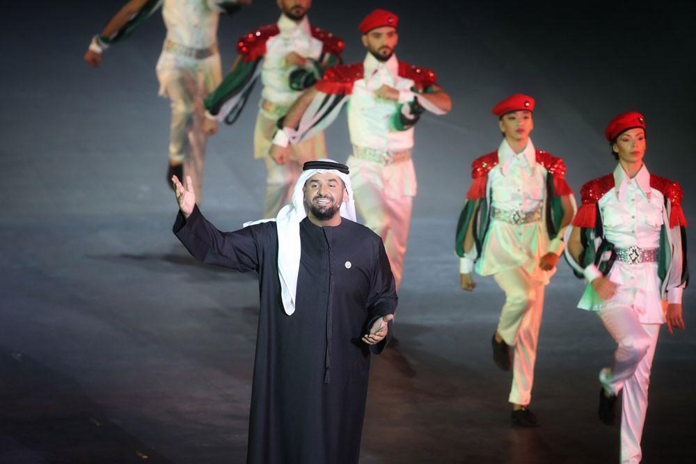 """حسين الجسمي يطرح أغنية """"عِسَل"""" أشعـار محمد بـن راشد آل مكتوم"""