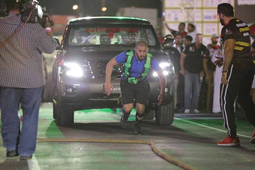 خالد بن حمد بطولة #أقوى_رجل_بحريني ولدت لتبقى