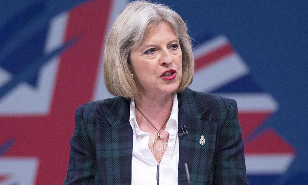 """تيريزا ماي: أرقام النمو في بريطانيا """"مخيبة للآمال"""""""