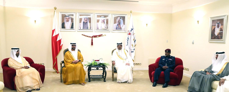 سمو محافظ الجنوبية: تاريخنا خير شاهد على علاقة البحرين بالإمارات