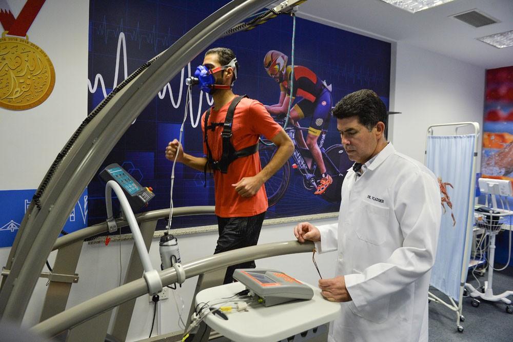 مختبر الأداء البدني يستقبل لاعبي المنتخبات الوطنية