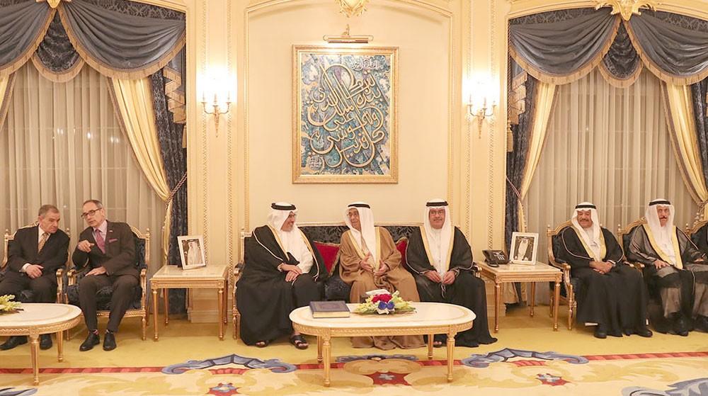 سمو نائب رئيس الوزراء يستقبل عدد من أفراد العائلة المالكة الكريمة والمهنئين بالشهر الفضيل
