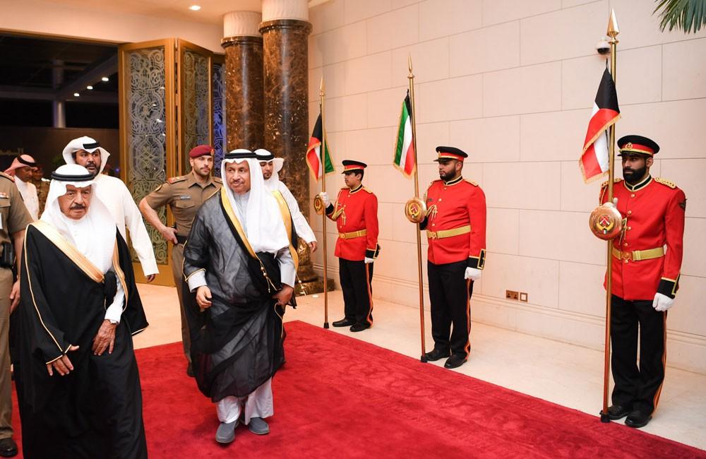سمو رئيس الوزراء يختتم زيارته الأخوية الى دولة الكويت