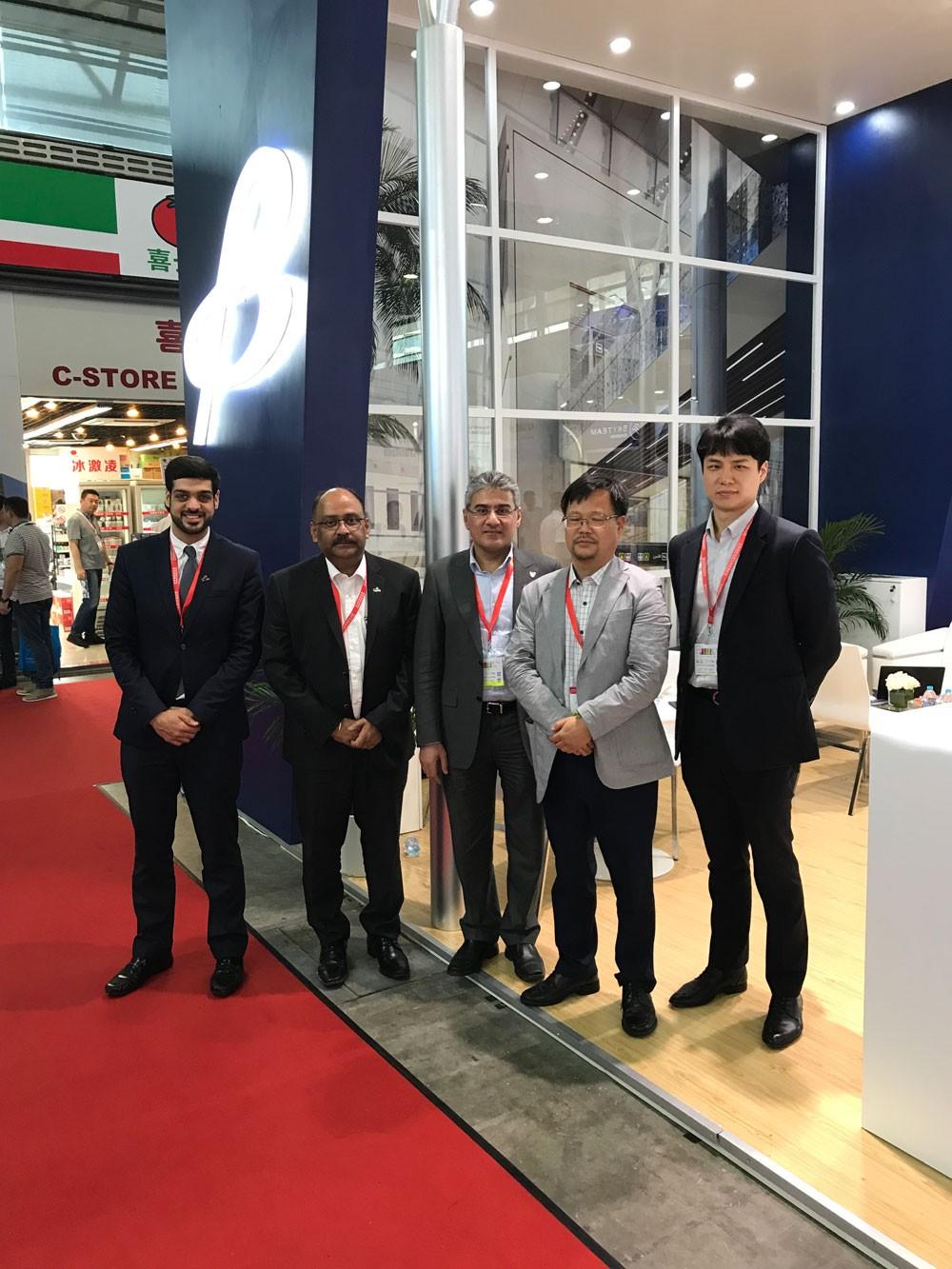 شركة مطار البحرين تعرض توسعها في مجال الشحن في معرض الشحن الجوي 2018 في الصين