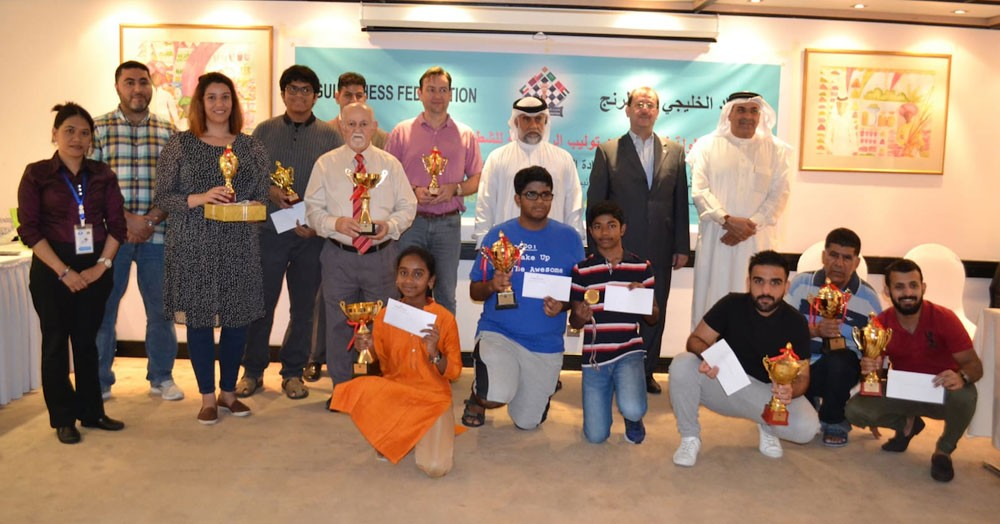 الكندي عدنان حبيب بطل شطرنج جولدن توليب الرمضانية