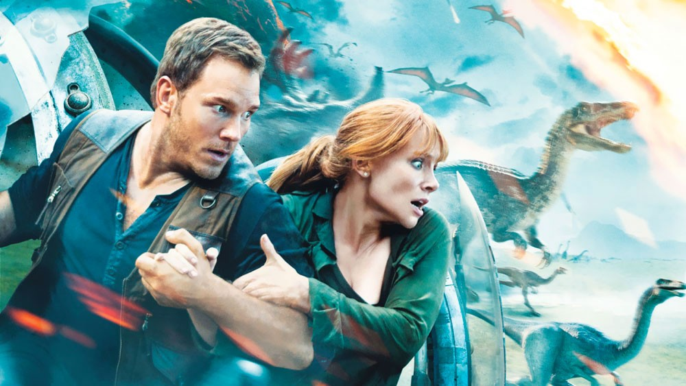 Jurassic World : Fallen Kingdom الديناصورات تعود من جديد