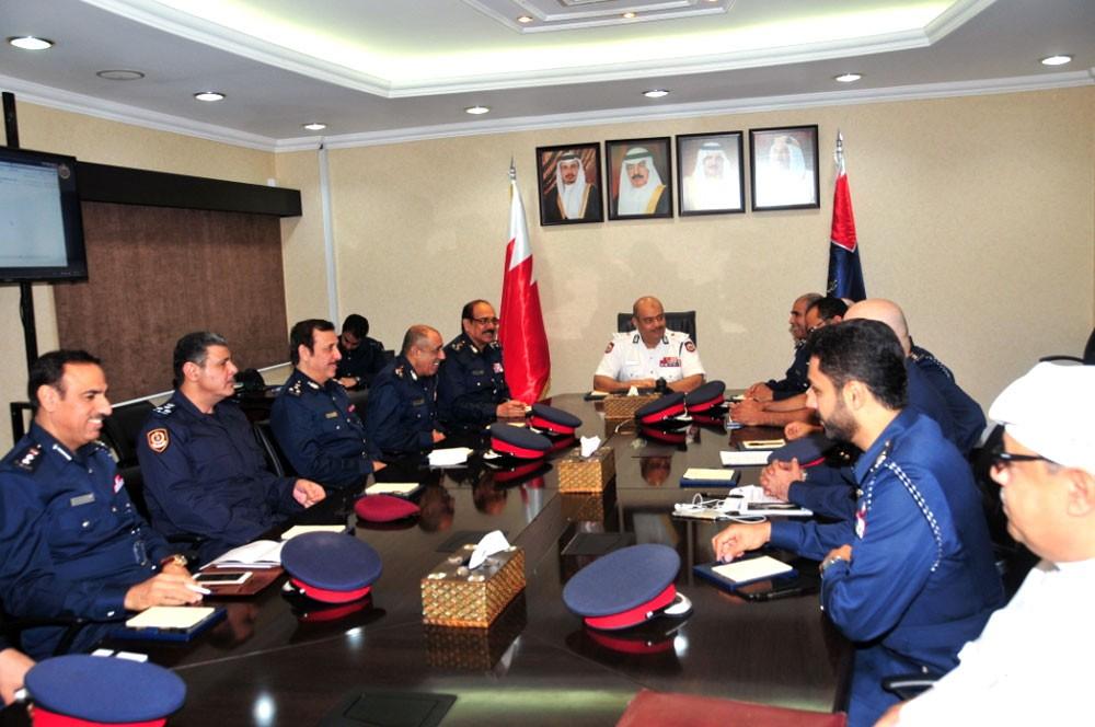 رئيس الأمن العام يترأس اجتماعا موسعا لاحتياجات مدينة سلمان