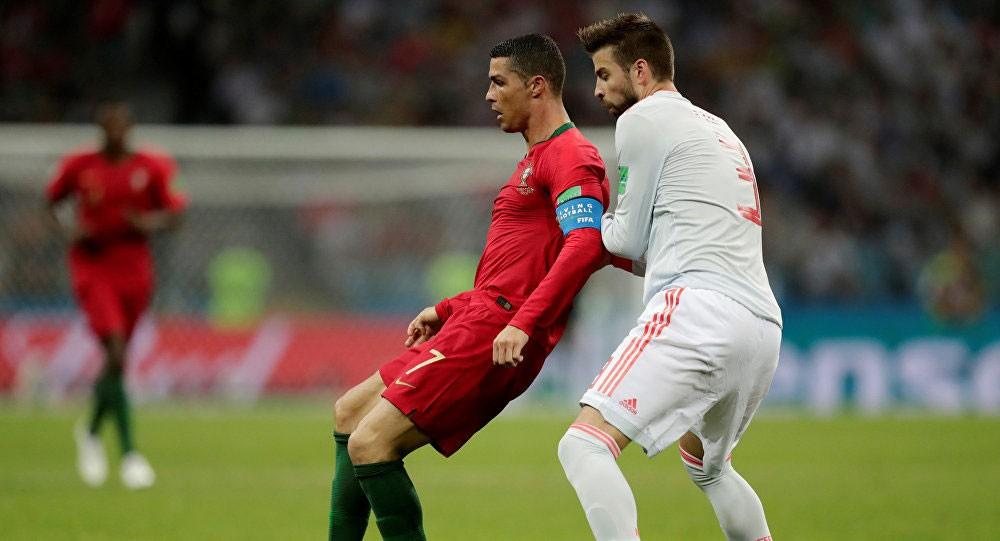 رونالدو يدخل تاريخ المونديال.. وينقذ البرتغال أمام إسبانيا