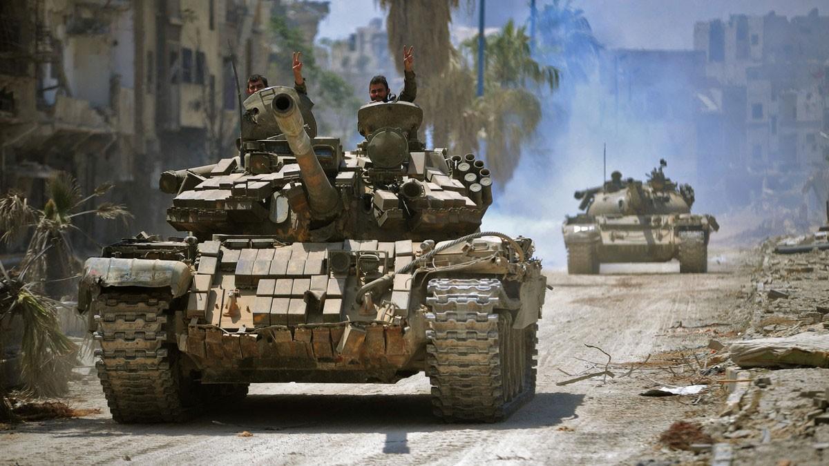 مقتل 52 من القوات الموالية للأسد في ضربة شرق سوريا