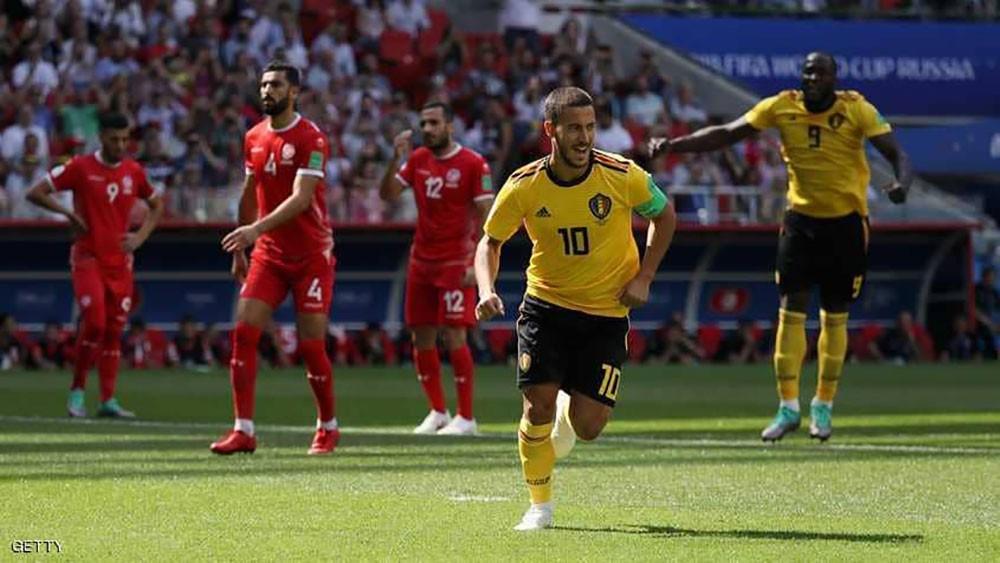 كيف دخلت مباراة تونس وبلجيكا تاريخ المونديال؟