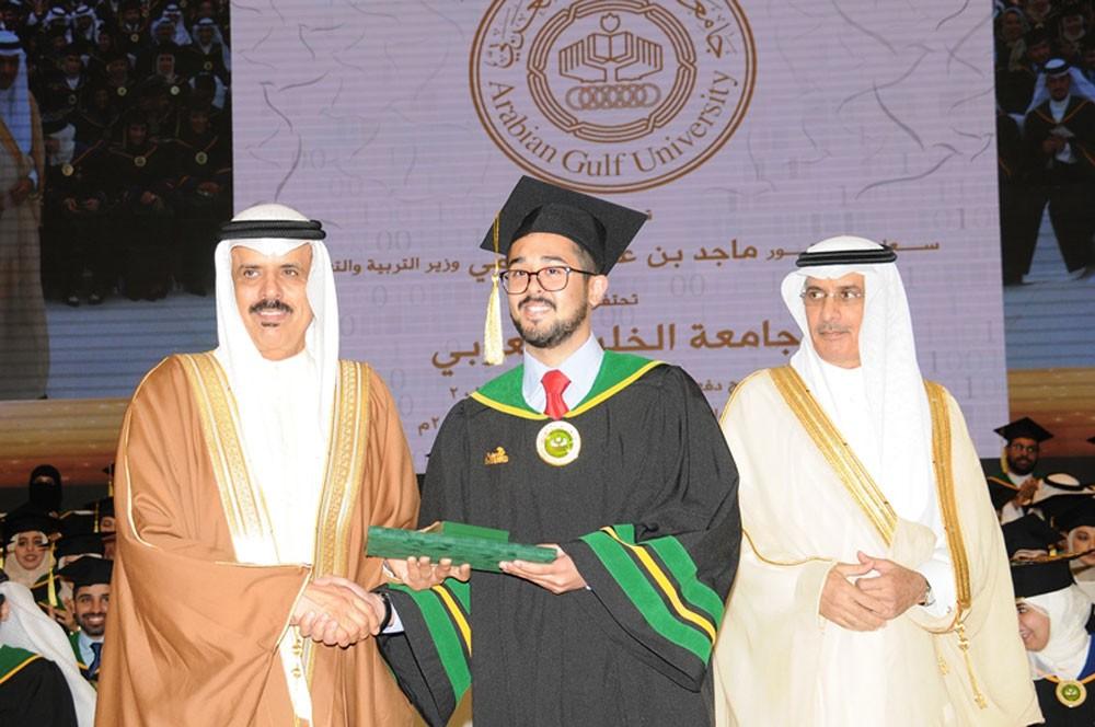 جامعة الخليج العربي تخرج الفوج 13 وتفخر بتخريج أكثر من 4000 خليجياً منذ تأسيسها