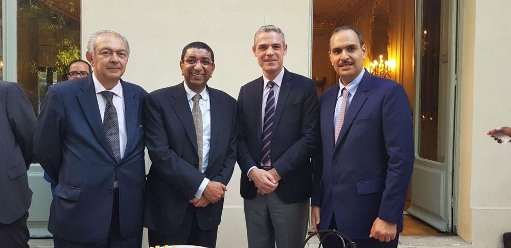 غرفة التجارة تشارك في اجتماع للغرفة التجارية العربية الفرنسية