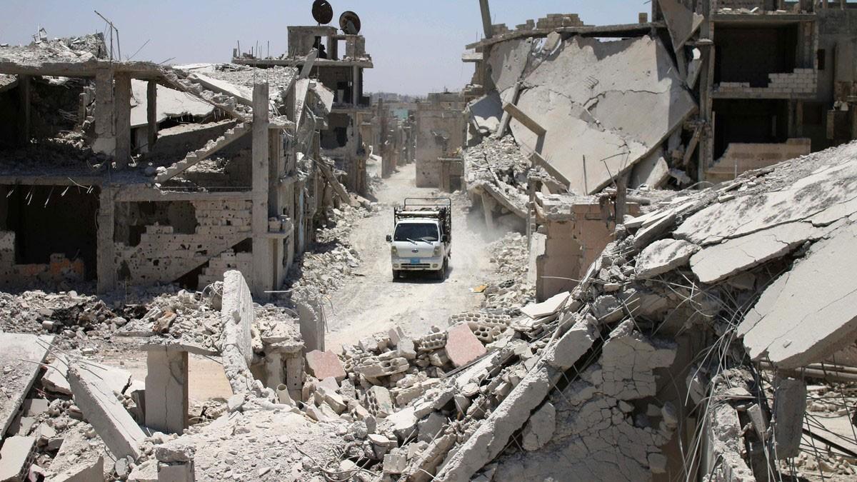 71 قتيلا سورياً بغارات موسكو