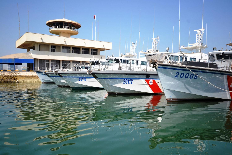 خفر السواحل: ضبط ثلاثة قوارب مخالفة لقرار حظر صيد الربيان