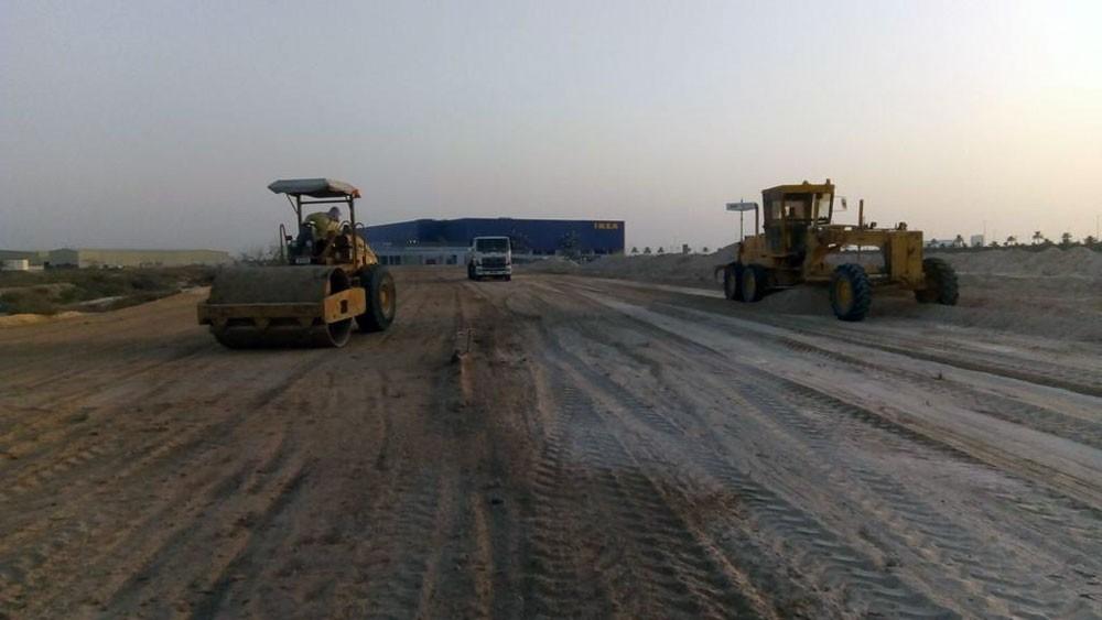 الأشغال: البدء بإنشاء منفذ جديد للمنطقة الصناعية والتجارية بسلماباد