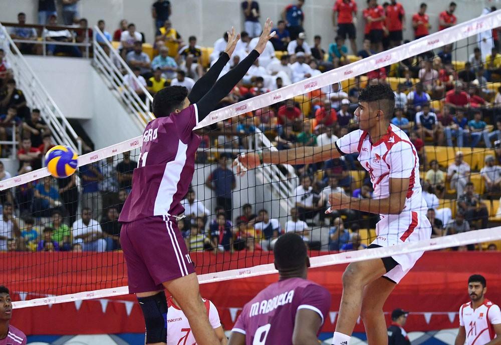 بالصور - منتخبنا الوطني للكرة الطائرة يفوز على قطر بثلاثة أشواط نظيفة في البطولة الآسيوية للشباب