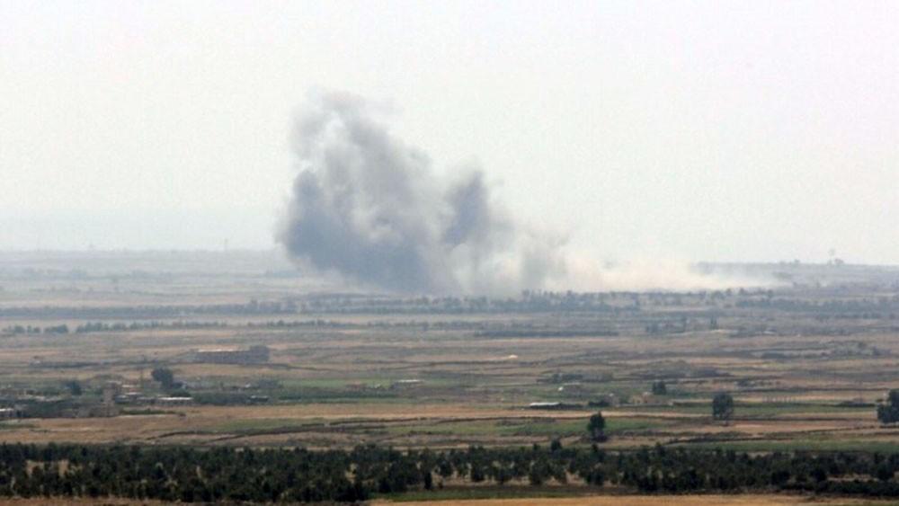 غارات إسرائيلية غرب حماة.. وسقوط قتلى لحزب الله
