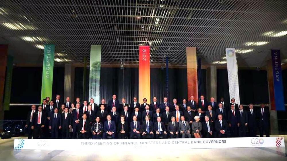 مجموعة العشرين تحذر من خطر التوترات التجارية