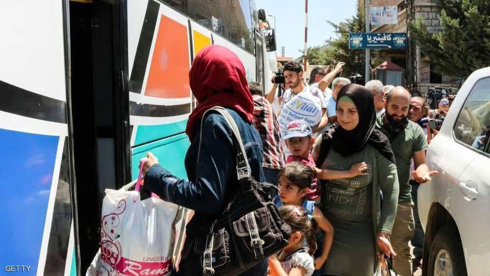 عودة مئات اللاجئين السوريين من لبنان