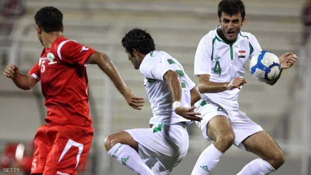 """""""مباراة تاريخية"""" بين العراق والمنتخب الفلسطيني في رام الله"""
