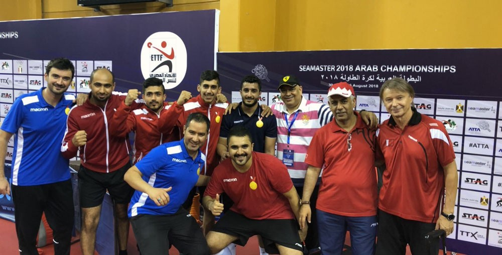 تألق منتخباتنا الوطنية لكرة الطاولة في البطولة العربية
