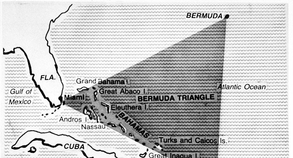 """العلماء يكتشفون سر اختفاء السفن في """"مثلث الشيطان"""""""