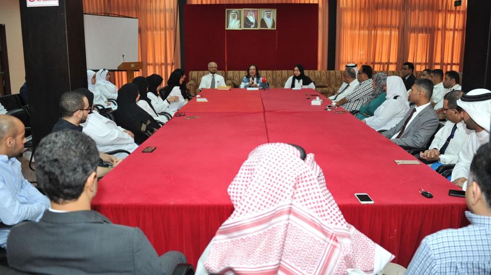 وزيرة الصحة تجتمع مع أعضاء اللجنتين التنسيقية والطبية ببعثة الحج للعام 2018