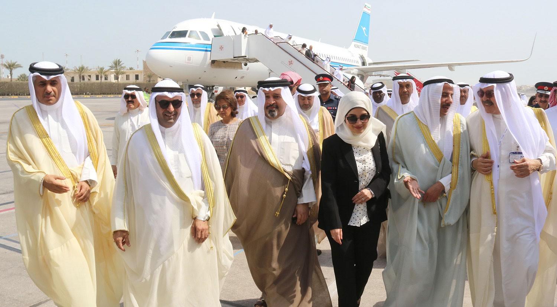 البحرين تستقبل أول رحلة من مبنى المسافرين الجديد في الكويت