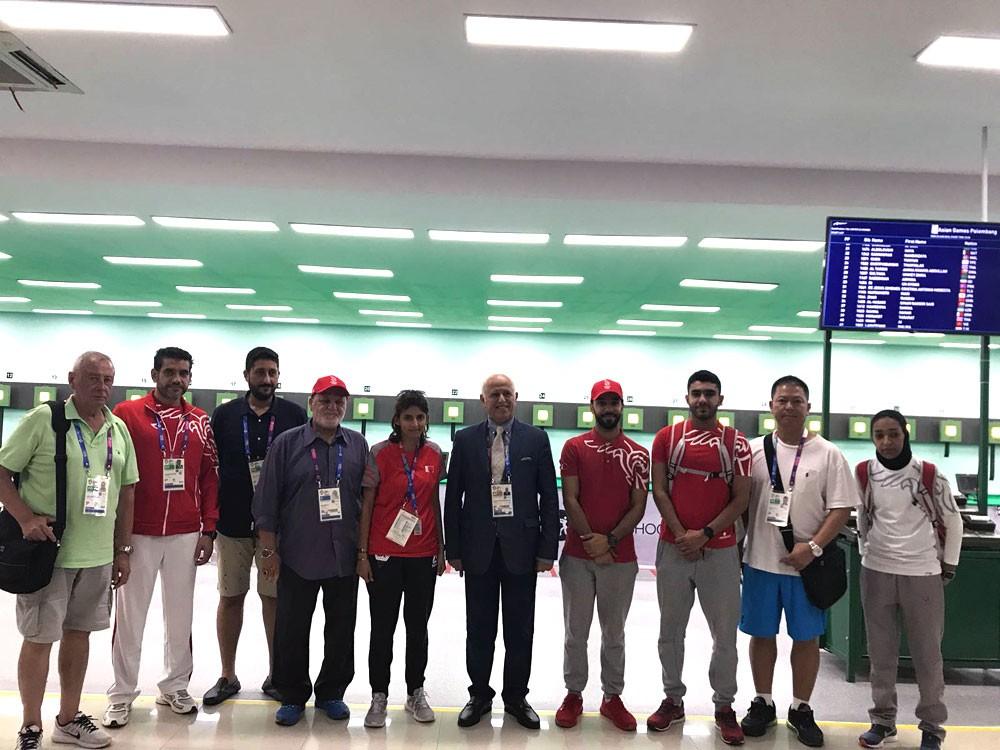 حكم الرماية عادل الأسد: سعيد بمشاركتي الأولى في الأسياد وحلمي الوصول للأولمبياد الدولية