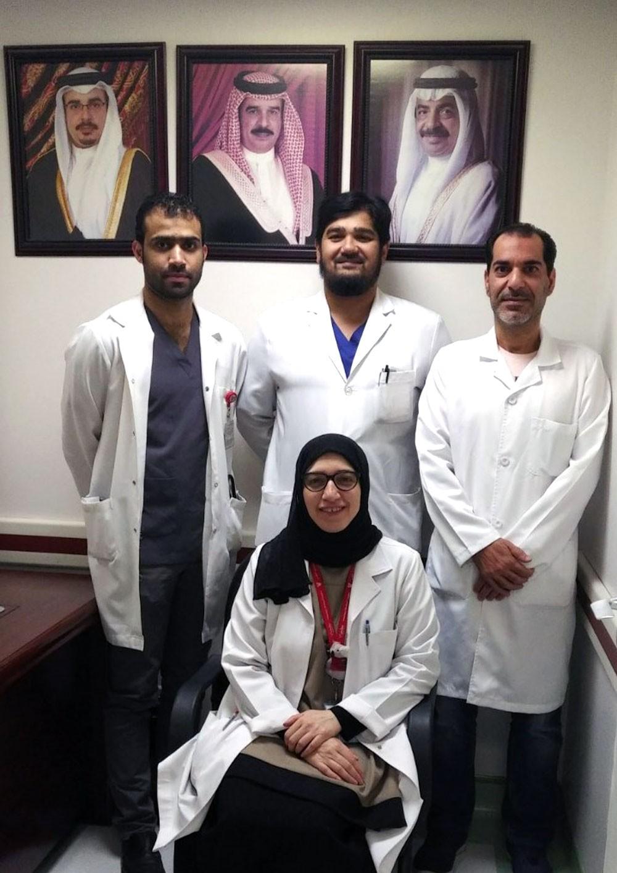 فريق طبي جراحي بالسلمانية الطبي ينقذ حياة طفلة بحرينية