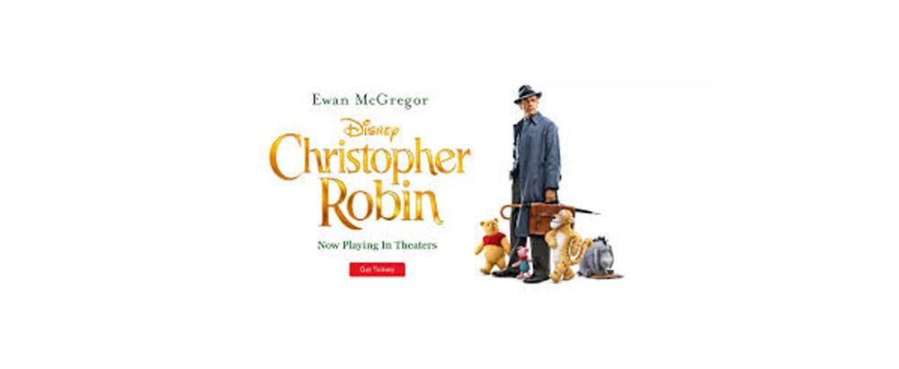 """فيلم """"Christopher Robin"""" ويني ذا بوو بصورة مختلفة!"""