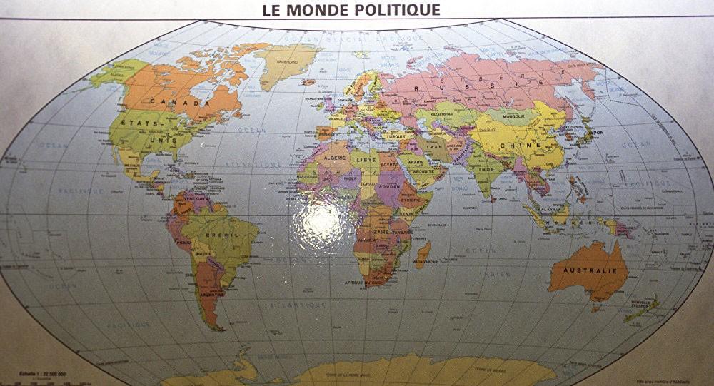 خريطة جديدة لكوكب الأرض
