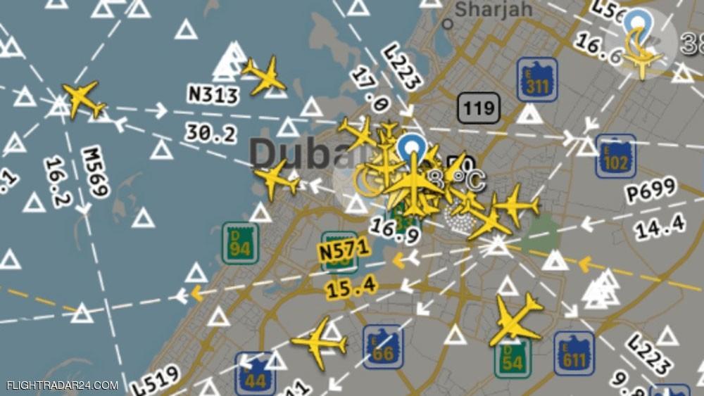 الإمارات : حركة الملاحة الجوية تسير بشكل طبيعي