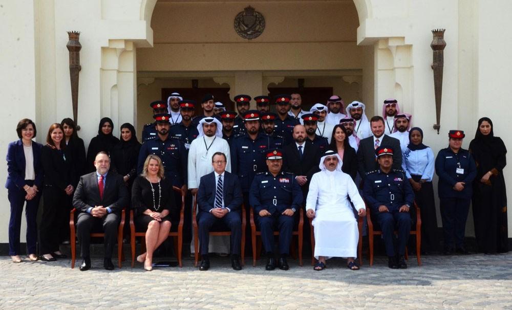 """رئيس الأمن العام يفتتح ورشة """"الممارسات الأفضل خلال تحقيقات جرائم الإرهاب وتمويله"""""""
