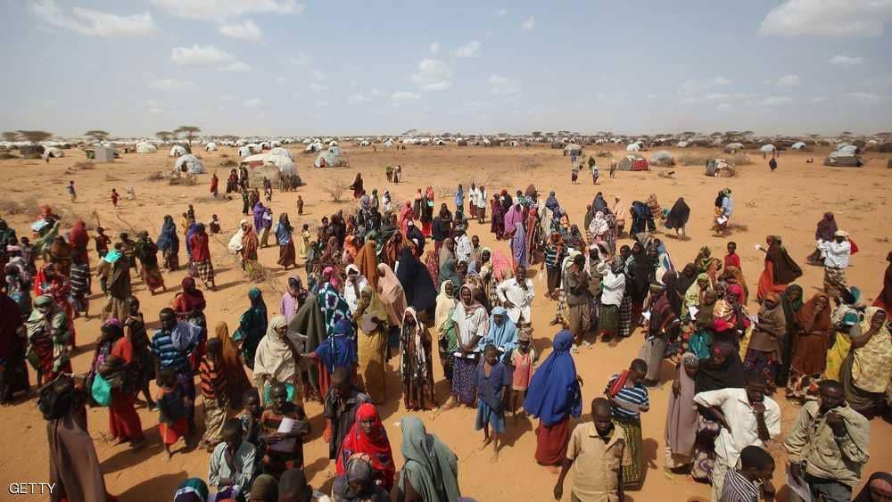 ارتفاع عدد الصوماليين المطرودين من ديارهم
