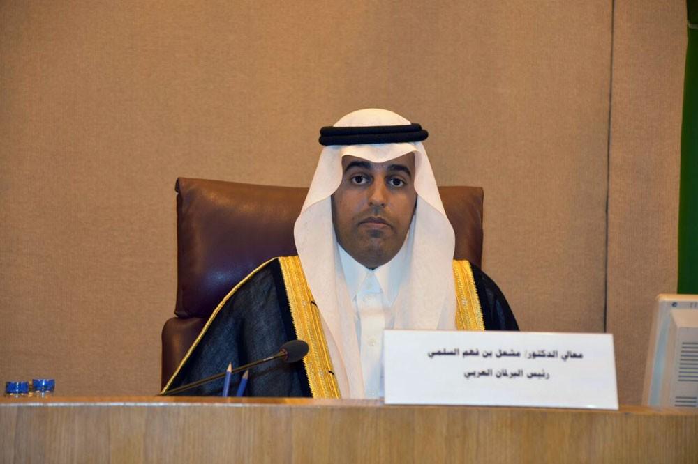البرلمان العربي يثمن موقف التحالف بقبولها نتائج فريق تقييم الحوادث