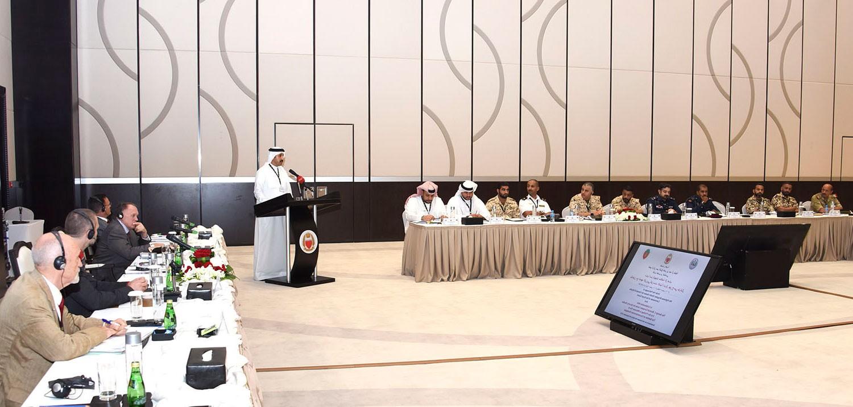 عبدالله بن أحمد: البحرين تواجه إرهاب حروب الجيل الجديد