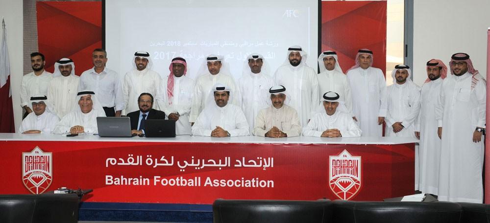 رئيس اتحاد الكرة يُنيب الأمين العام لافتتاح ورشة عمل مراقبي المباريات