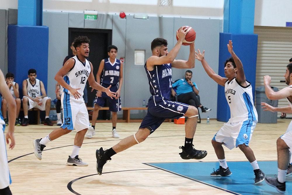 انطلاقة قوية ومثيرة لدوري الشباب لكرة السلة بأربع مباريات