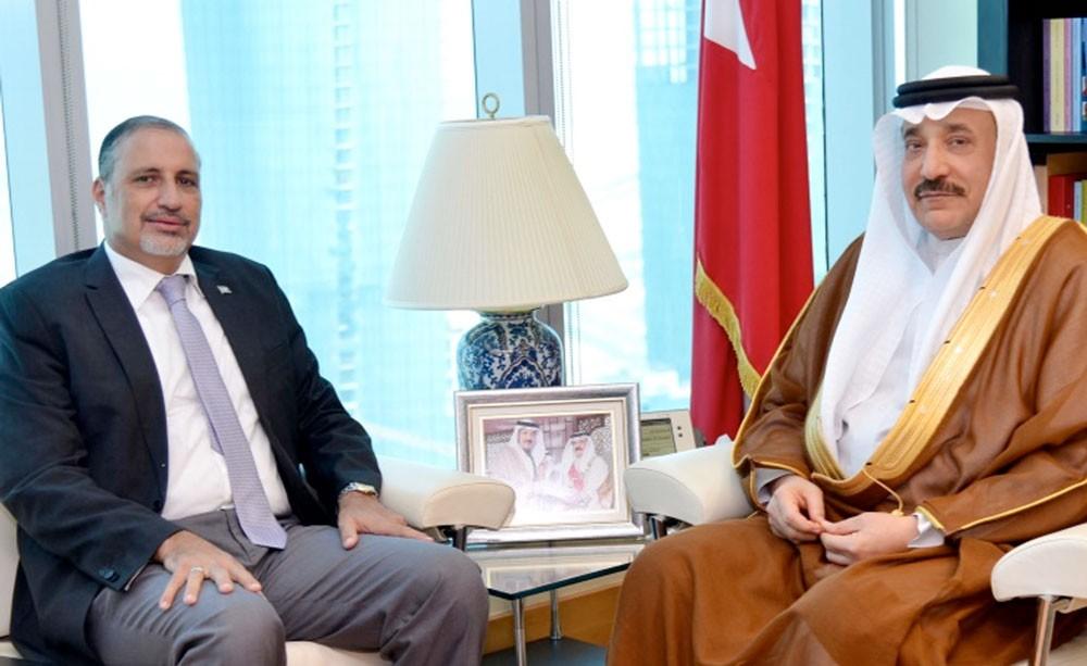 حميدان يستقبل منسق الأمم المتحدة والممثل المقيم لبرنامج الأمم المتحدة الإنمائي