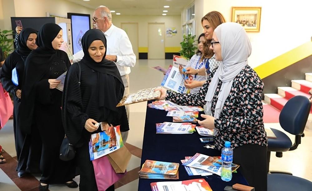 جامعة البحرين تستقبل أكثر من 6000 طالب مستجد