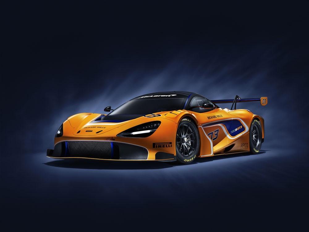ماكلارين 720S GT3 بصدد المشاركة في السباقات للمرة الأولى في 2019