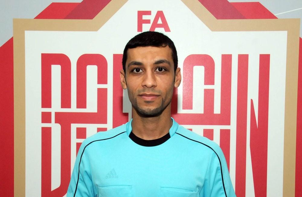 إسماعيل حبيب يدير بنجاح قمة الدوري الكويتي لكرة القدم