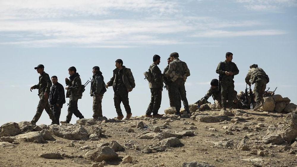 900 مقاتل أجنبي من داعش في قبضة أكراد سوريا