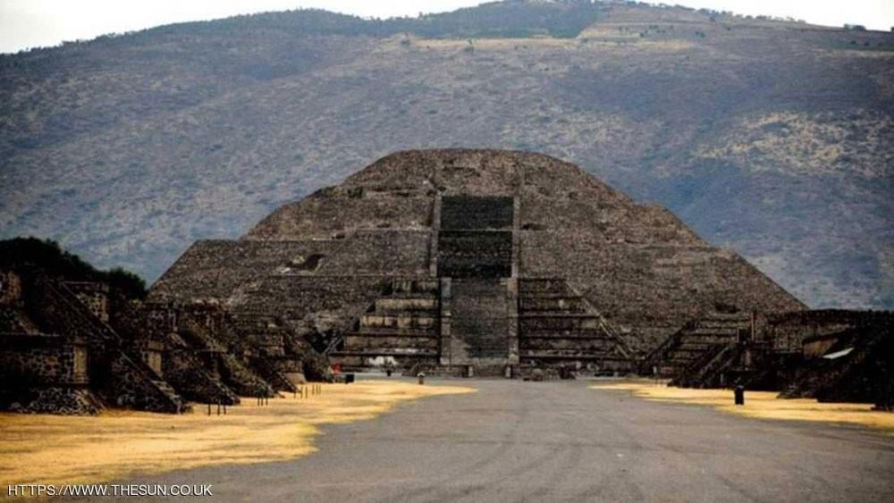 اكتشاف أثري مذهل تحت ثاني أكبر هرم في المكسيك